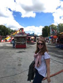 We found a fair and suddenly I felt like I was in Cobden!